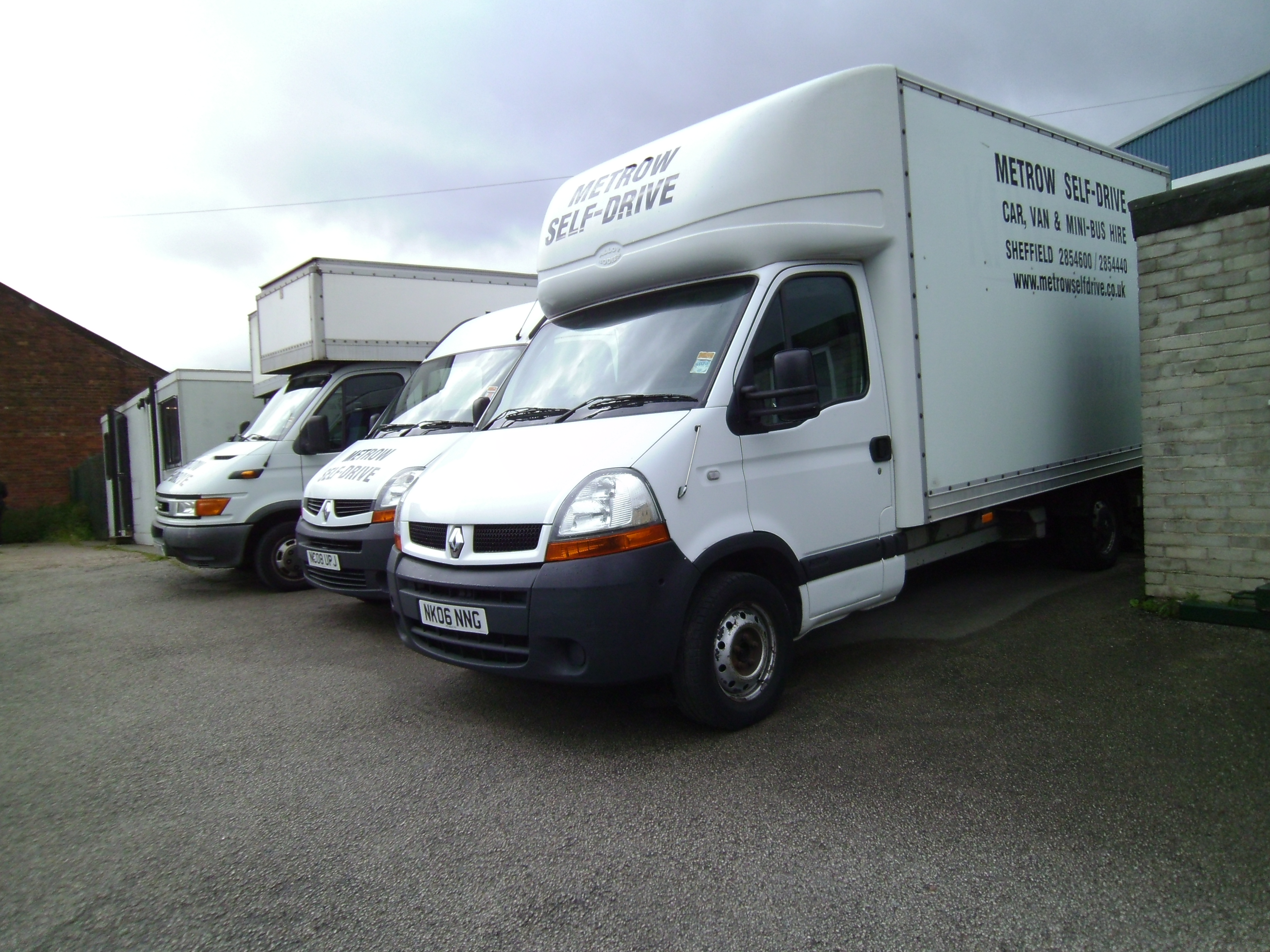 Some of our vans