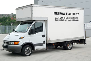 Metrow Self Drive Van Rental Sheffield
